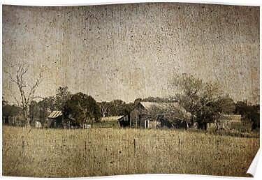 Rural Australia - vintage by Rosalie Dale