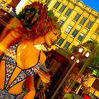 lingerie mannequin with tree hair by shannonybaloney