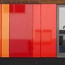 Het 4e Gymnasium - wood, wall panels, windows (1) by Marjolein Katsma