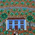 The Blue House, Tenerife by Amanda White