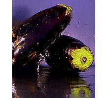Purple Rain & Passionate Eggplant Photographic Print