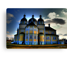 Ukrainian Catholic Church of the Immaculate Conception Canvas Print