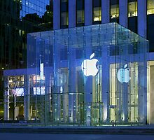 Apple Store 5th Avenue NYC by Jimmy Wasson