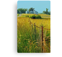 Another view down Bellview Road Canvas Print