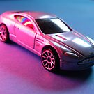 Aston Martin V8  Toy Model by rhian mountjoy