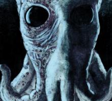 Creature at the Porthole Sticker