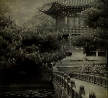 garden temple, Seoul by leigh miller