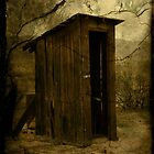 An old fashioned crapper by Cody  VanDyke