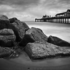 Southwold Pier and Rocks, Suffolk by DaveTurner