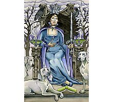 Queen of Swords Photographic Print