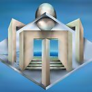 Impossible art deco structure by Paul Fleet
