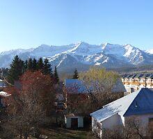 Fernie Alpine Resort from town, BC, Canada by slipdavies