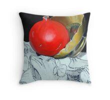 Pomegranate and pot Throw Pillow