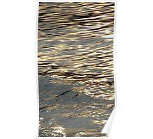 Golden Water Poster