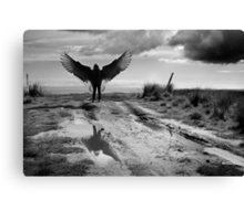 The lament of Icarus Canvas Print