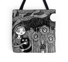 Midnight Hours and Deathly Flowers Tote Bag