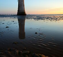 Spurn Point Low Light by Dave McAleavy