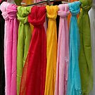 Colourful Shawls by steppeland