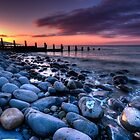 Amroth Sunrise by Mark Robson