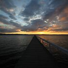 Long Jetty at Sunset by Phil Webb