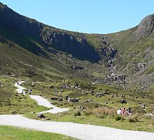 Road to Mahon Falls,Comeragh Mountains,Co.Waterford,Ireland. by Pat Duggan