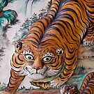 Temple Tiger, Penang, Malaysia by Ashlee Betteridge