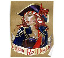 Captain Red Dragon Poster