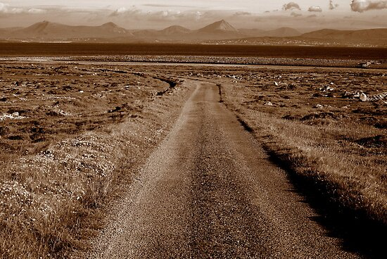 Tory Island Road by lukasdf