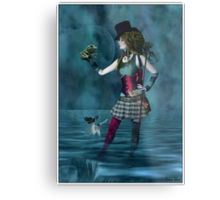 The Fool Metal Print