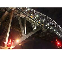 Sydney Harbour Bridge at Night Photographic Print