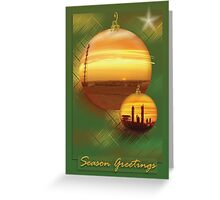 Moomba Sunset Greeting Card