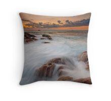 Smiths Beach Rush.... Throw Pillow