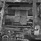 Lost River B/W by Karen  Moore