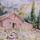 Cabin in the Woods by Linda Diane Taylor