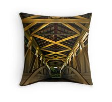 Inside Out ... Dedicated to BigD Throw Pillow