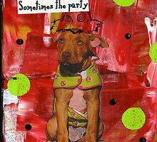 """""""Pittie"""" Party by Shawn South-Aswad"""