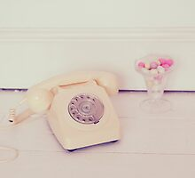 Telephone and Sugar Almonds by AnnaBaria