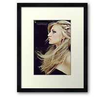 The Way The Wind Blows Framed Print