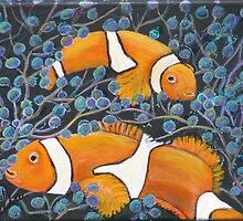 Clown Fish by Mikki Alhart