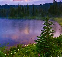 Reflection Lakes Morning by RavenFalls