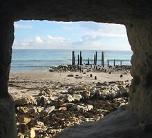 Port Willunga Jetty Ruins by PaulaBoreham