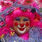 Happy Clown surrounded in pink by InterfaceImages