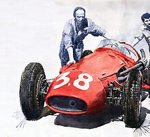 Ready for Racing Maserati 250 F by Yuriy Shevchuk
