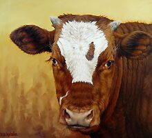 Rusty Red Calf by Margaret Stockdale