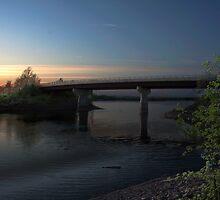 Windsor-Falmouth Bridge by Scott Ruhs