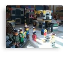 Lego Town Canvas Print