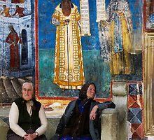 VORONET MONASTERY - ROMANIA by Michael Sheridan