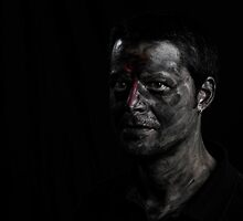 After Frank Auerbach (2) by javiermanrique