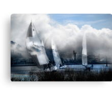 Bring Me Back The Clouds Canvas Print