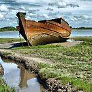 Wyre Estuary  Wrecks  by Lilian Marshall